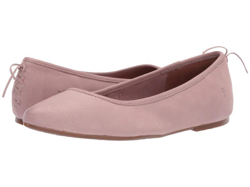 フライ レディース サンダル シューズ Regina Ballet Lilac Tumbled Nubuck