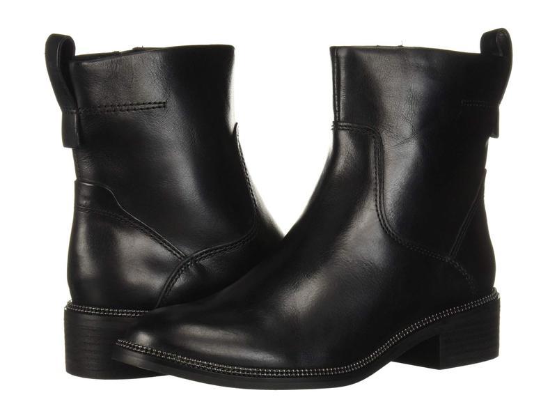 フランコサルト レディース ブーツ・レインブーツ シューズ Brindle Black Leather