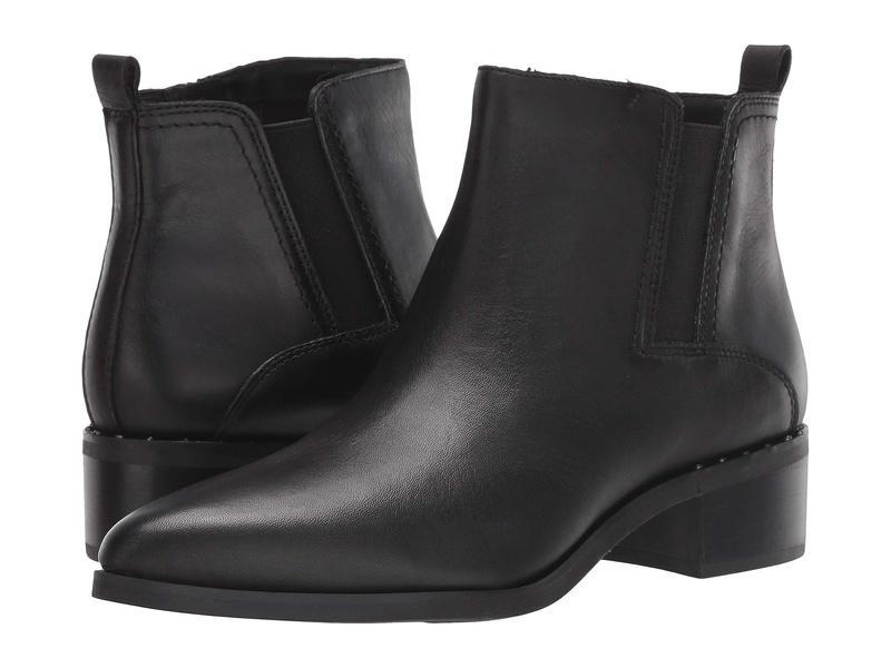 フランコサルト レディース ブーツ・レインブーツ シューズ Domingo Black Leather