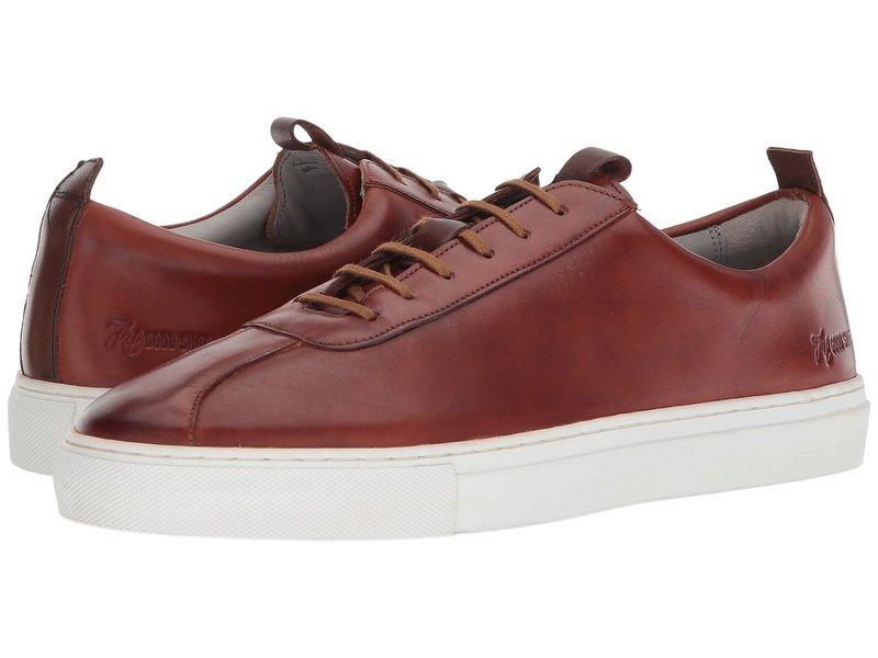グレンソン メンズ スニーカー シューズ Handpainted Sneaker Tan