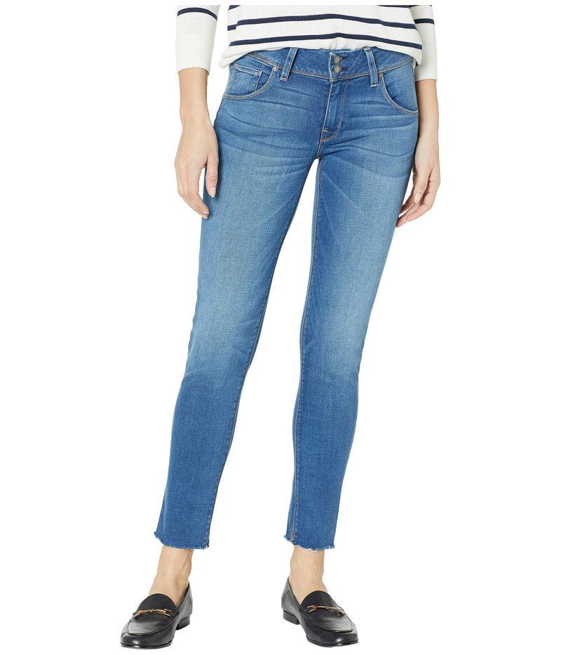 ハドソンジーンズ レディース デニムパンツ ボトムス Collin Mid-Rise Ankle Flap Pocket Jeans in Vision Vision
