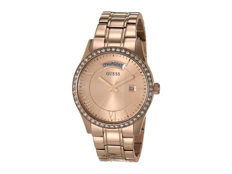 ゲス レディース 腕時計 アクセサリー U0764L3M Rose Gold