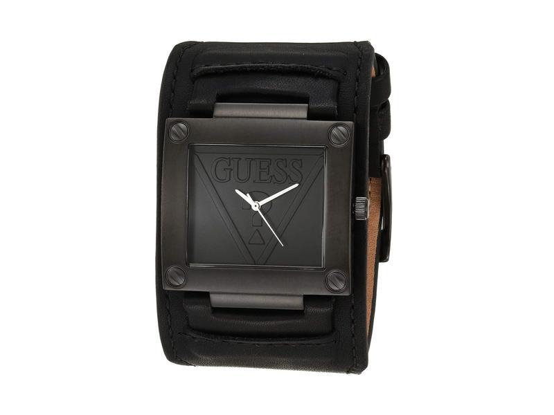 ゲス メンズ 腕時計 アクセサリー W1166G2 Black