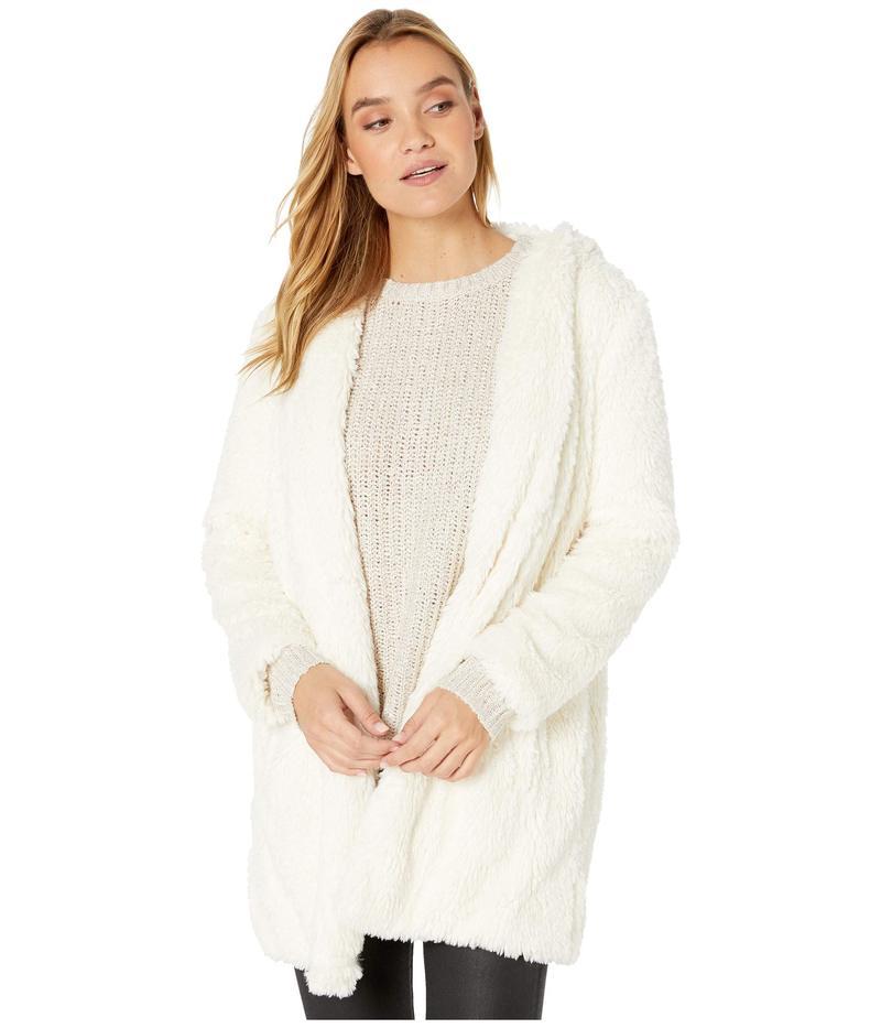 ジャック バイ ビービーダコタ レディース コート アウター It's Shawl Good Fleece Jacket Ivory
