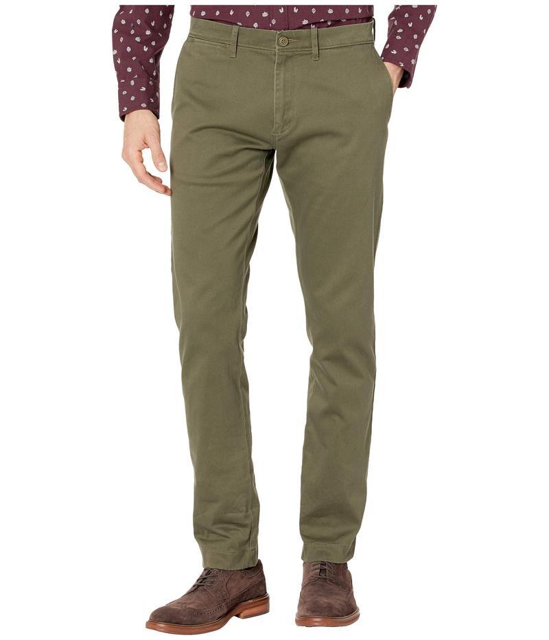 ジェイクルー メンズ カジュアルパンツ ボトムス 484 Slim-Fit Pant in Stretch Chino Catskill Green