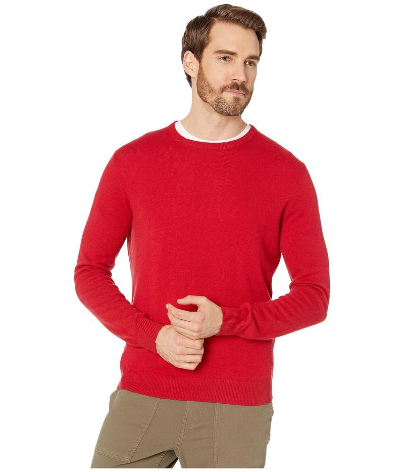 ジェイクルー メンズ ニット・セーター アウター Everyday Cashmere Crewneck Sweater in Solid Moroccan Red