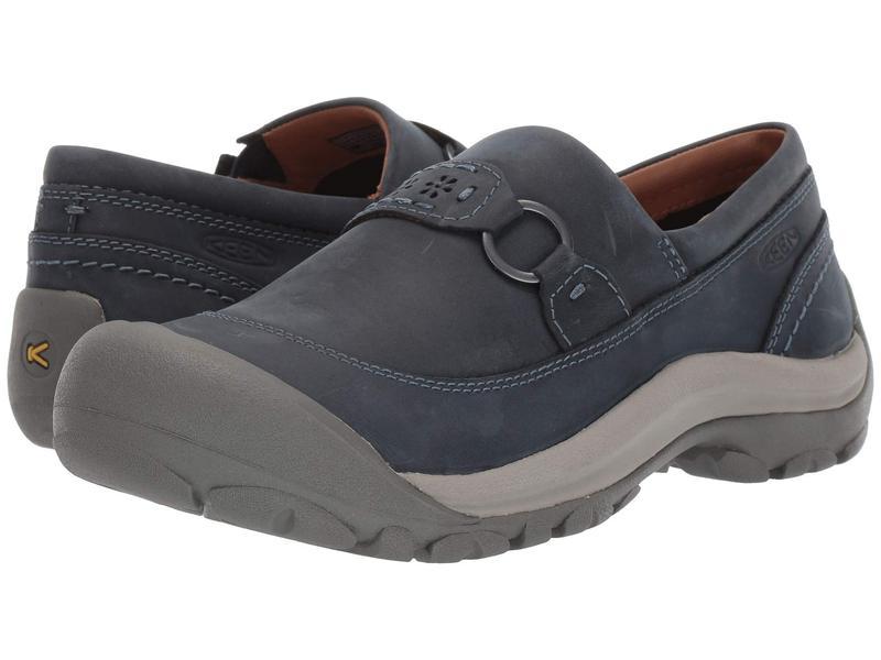 キーン レディース スリッポン・ローファー シューズ Kaci II Slip-On Dress Blue/Steel Grey