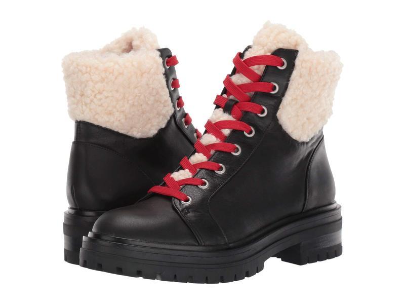 ケネスコール レディース ブーツ・レインブーツ シューズ Rhode Lace-Up Boot Cozy WP Black
