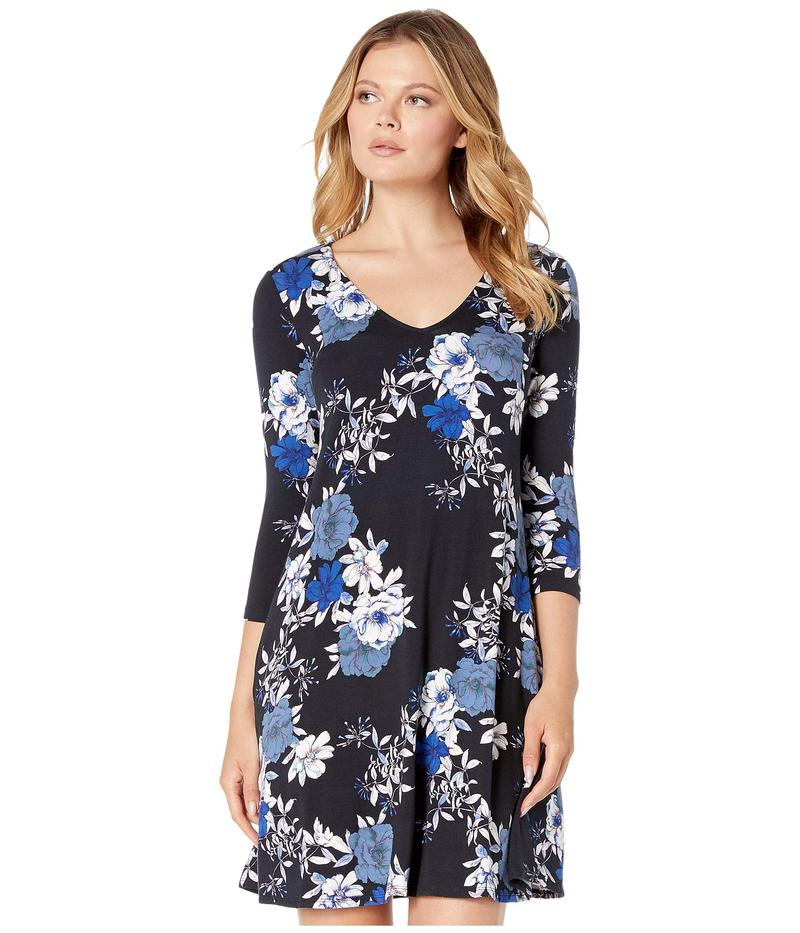 カレンケーン レディース ワンピース トップス 3/4 Sleeve Tessa Dress Print