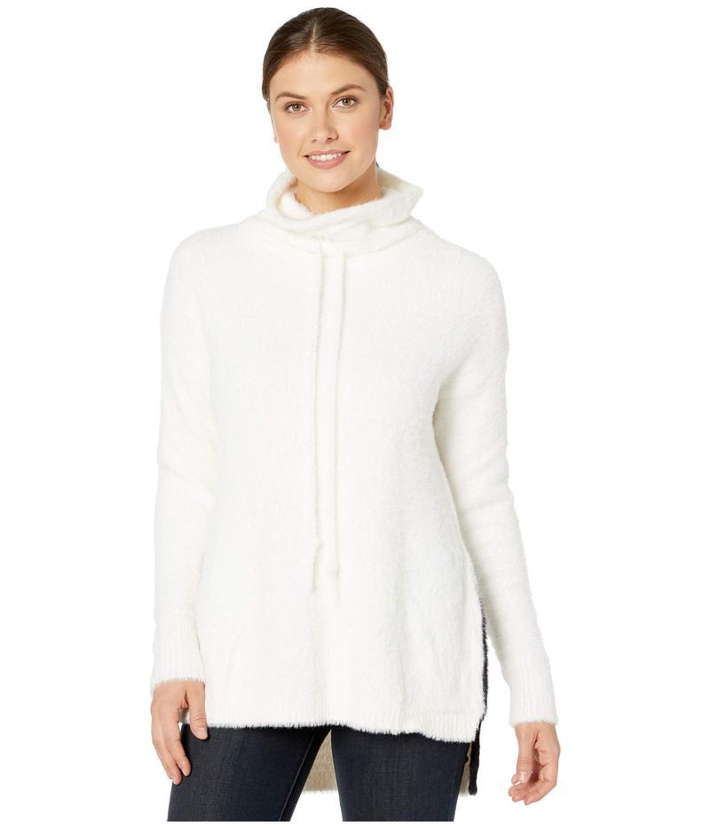 リジー レディース ニット・セーター アウター Lumen Sweater in Faux Mink Snow White