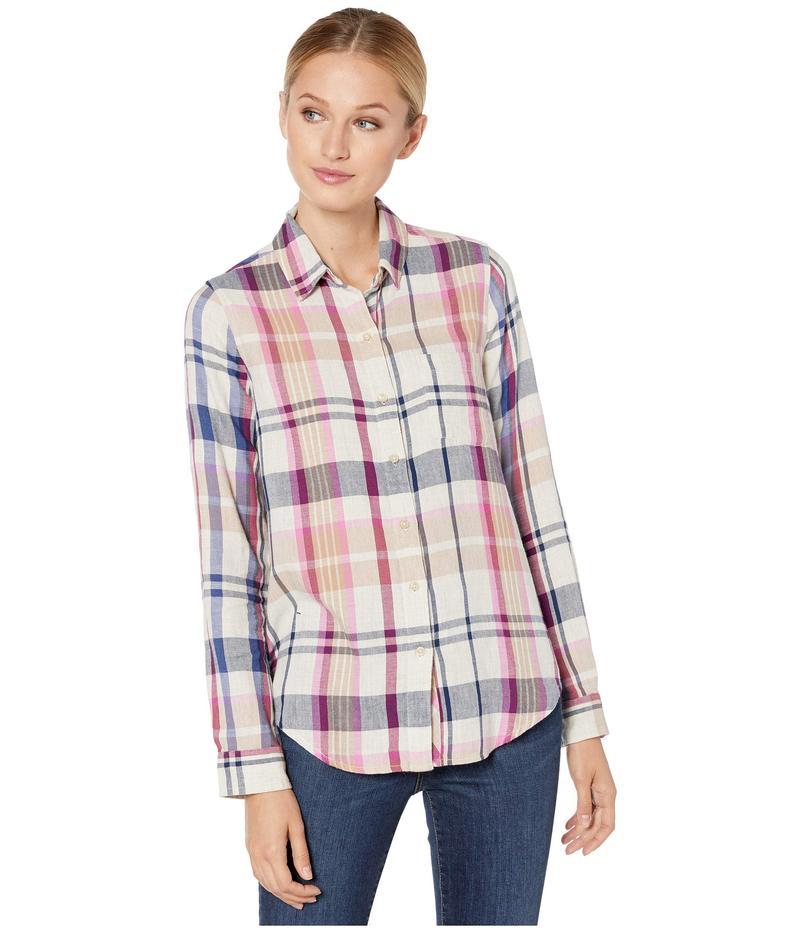 ラッキーブランド レディース シャツ トップス Blue Classic One-Pocket Plaid Shirt Natural Multi