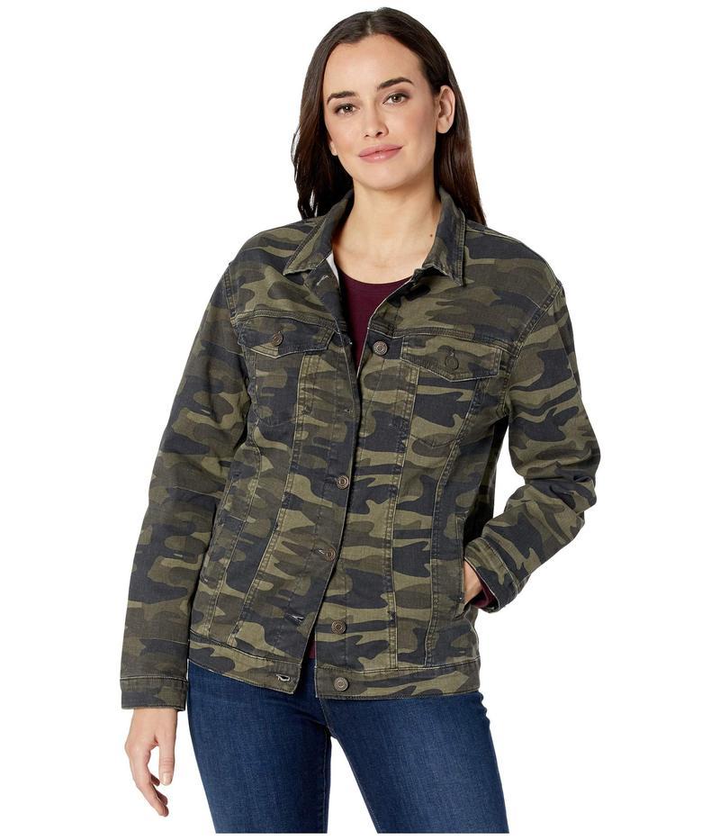 マーヴィ ジーンズ レディース コート アウター Karla Boyfriend Jacket in Military Camouflage Military Camouflage