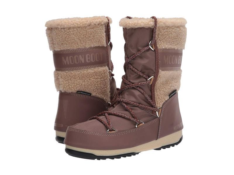 ムーンブーツ レディース ブーツ・レインブーツ シューズ Moon Boot Monaco Wool Mid Mud