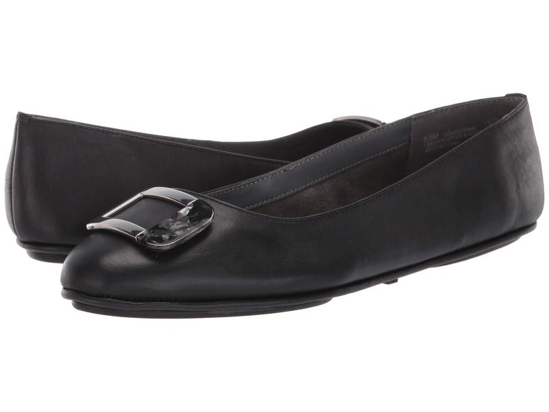 エアロソールズ レディース サンダル シューズ Sensational Black Leather