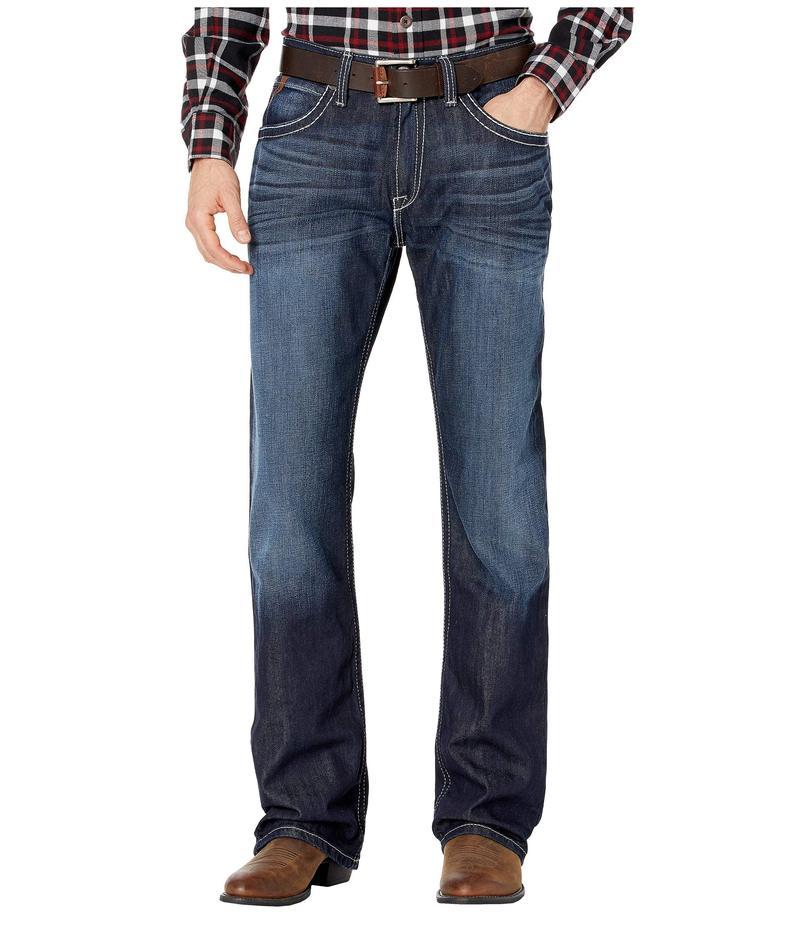 アリアト メンズ デニムパンツ ボトムス M4 Low Rise Bootcut Jeans in Steel Steel