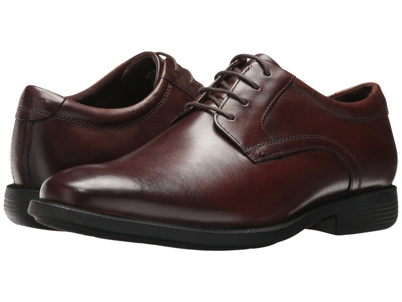 ノンブッシュ メンズ オックスフォード シューズ Devine Plain Toe Oxford with KORE Walking Comfort Technology Brown