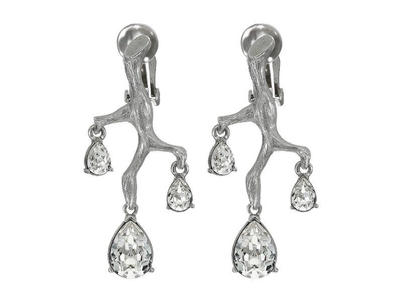 オスカー デ ラ レンタ レディース ピアス・イヤリング アクセサリー Runway Branch Crystal Earrings Rose Gold/Crystal