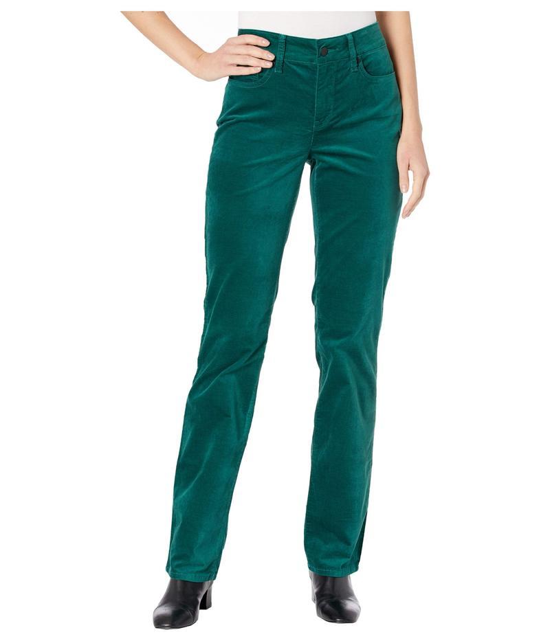 エヌワイディージェイ レディース デニムパンツ ボトムス Marilyn Straight Velvet Jeans in Mountain Pine Mountain Pine