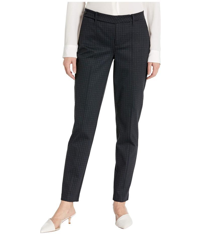 エヌワイディージェイ レディース カジュアルパンツ ボトムス Everyday Trouser Pants Fine Windowpane