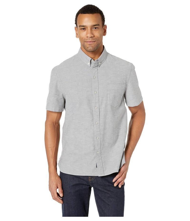 レインスプーナー メンズ シャツ トップス Solid Stretch Oxford Shirt Grey