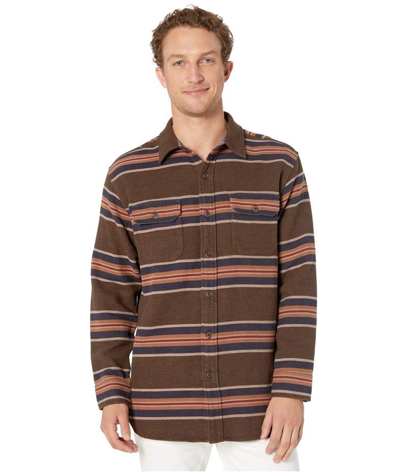 ペンドルトン メンズ シャツ トップス Blanket Stripe Overshirt San Miguel Brown Stripe