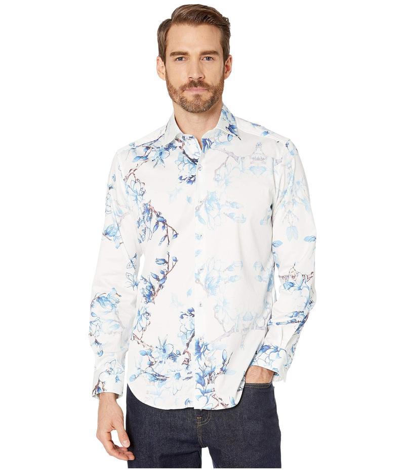 ロバートグラハム メンズ シャツ トップス Aiden Tailored Fit Sport Shirt Blue