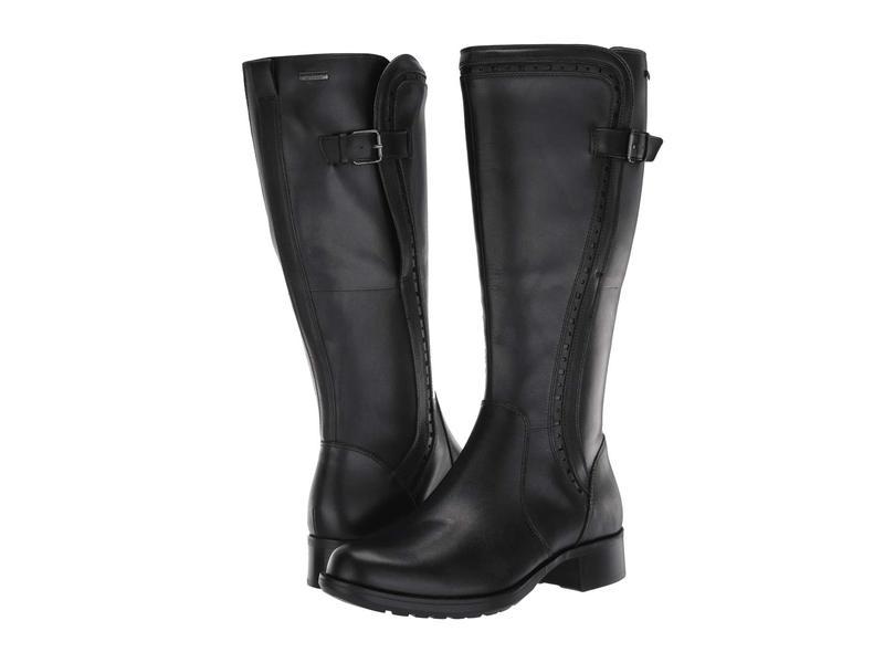 ロックポート レディース ブーツ・レインブーツ シューズ Copley Tall Waterproof Boot Black