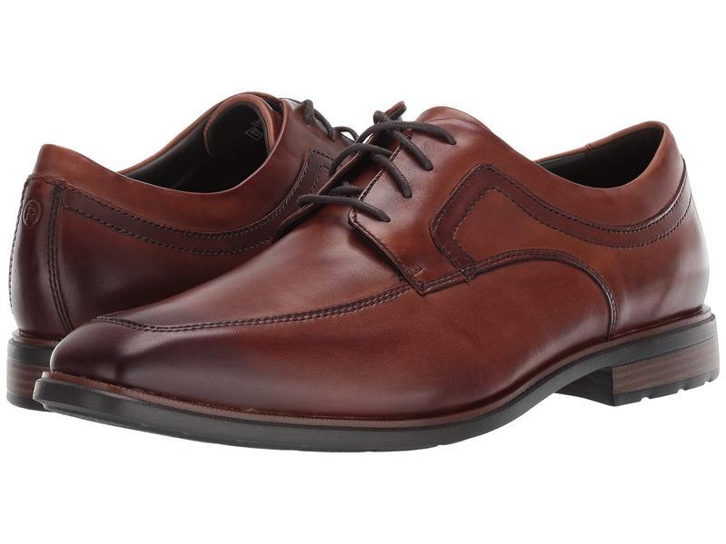 ロックポート メンズ オックスフォード シューズ DresSports Business 2 Apron Cognac Antique