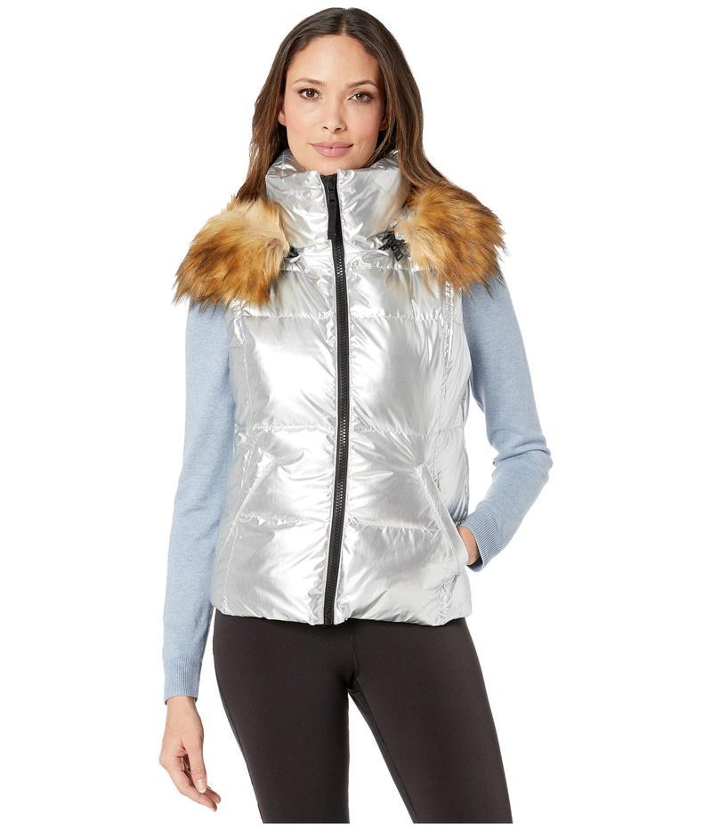 エスサーティーン レディース コート アウター Metallic Snowcat Vest Silver