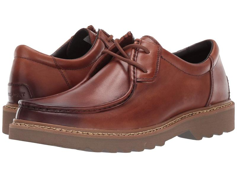 ロックポート メンズ オックスフォード シューズ Peirson 2-Eye Tie Cognac Leather