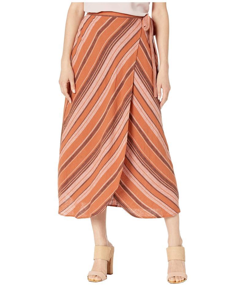 サンクチュアリー レディース スカート ボトムス Catching Rays Faux Wrap Skirt Sierra Stripe