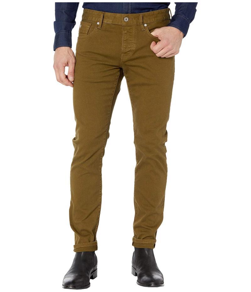 スコッチアンドソーダ メンズ デニムパンツ ボトムス Ralston - Clean Garment Dyed Colors Military Green