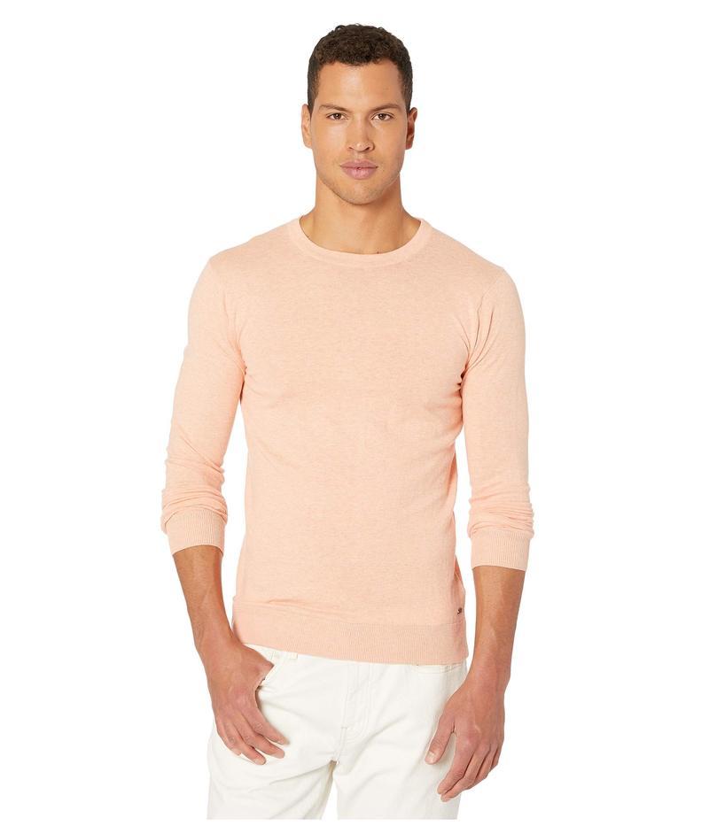 スコッチアンドソーダ メンズ ニット・セーター アウター Ams Blauw Cotton Cashmere Crew Neck Pull Pink Paint Melange