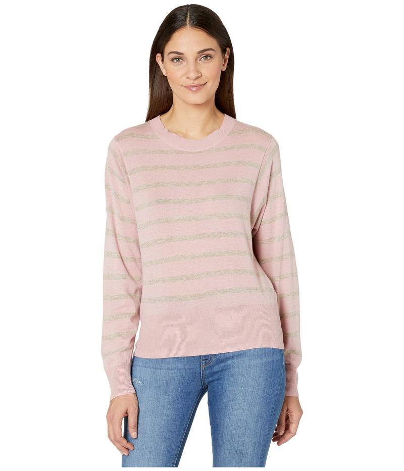 スプレンディット レディース ニット・セーター アウター Tradewinds Striped Pullover Pink/Heather Toast