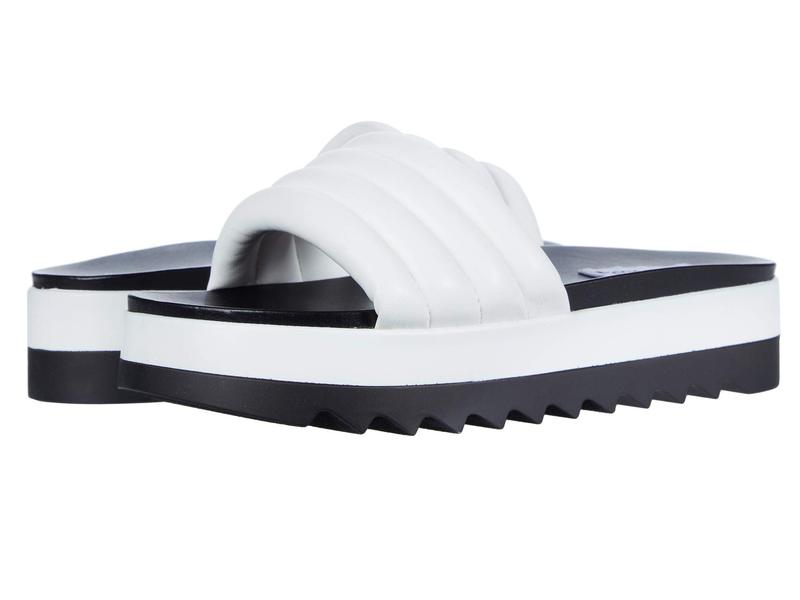 スティーブ マデン レディース サンダル シューズ Lazaro Flat Sandal White