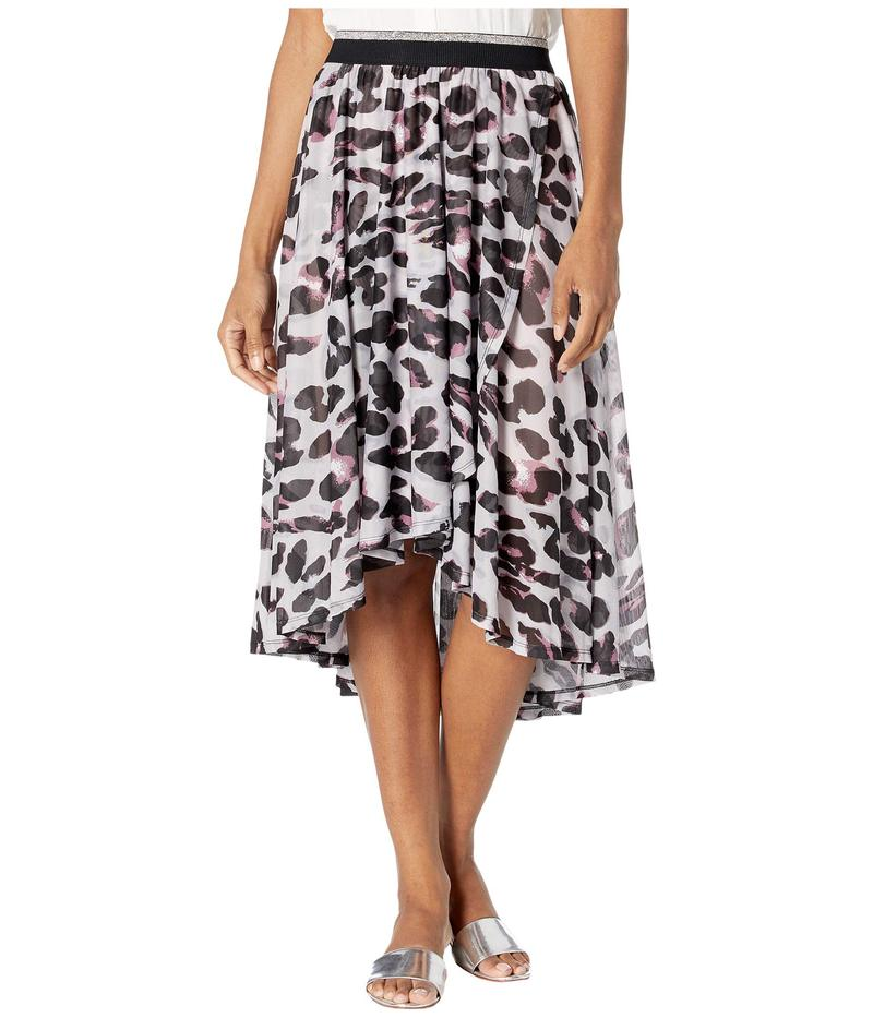 トリバル レディース スカート ボトムス High-Low Faux Wrap Skirt Porcelain