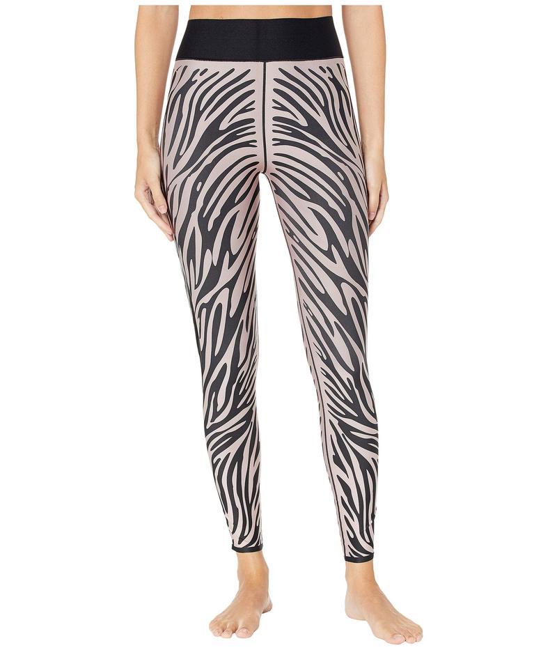 ウルトラコール レディース カジュアルパンツ ボトムス Ultra High Zebra Leggings Blush Patent Nero