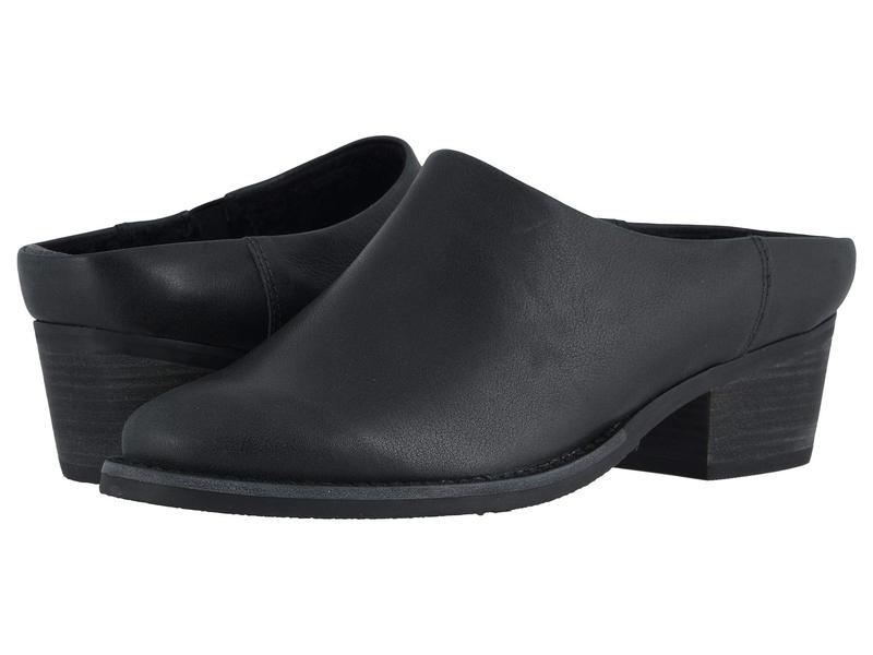 ウォーキング クレイドル レディース ヒール シューズ Greer Black Tumbled Leather