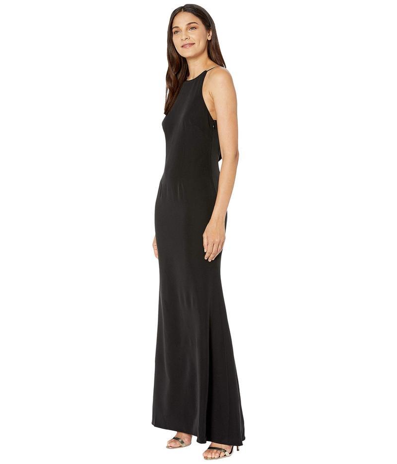 ワイフ レディース ワンピース トップス The Nina Cowl Back Dress Blackbf7gyY6