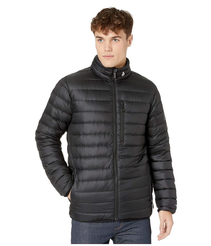 ボルコム メンズ コート アウター Puff Puff Give Jacket Black