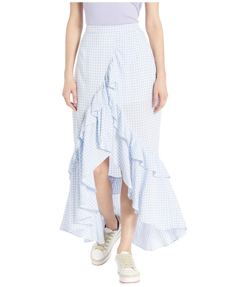 ビービーダコタ レディース スカート ボトムス Go Gingham Tiger Skirt Sky Blue