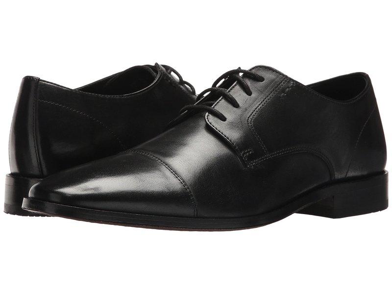 ボストニアン メンズ オックスフォード シューズ Nantasket Cap Black Leather