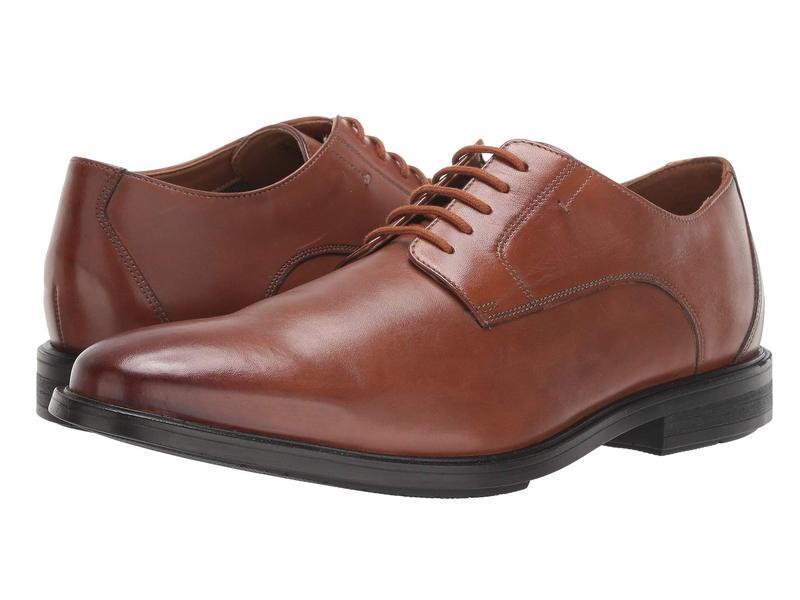 ボストニアン メンズ オックスフォード シューズ Hampshire Low Tan Leather