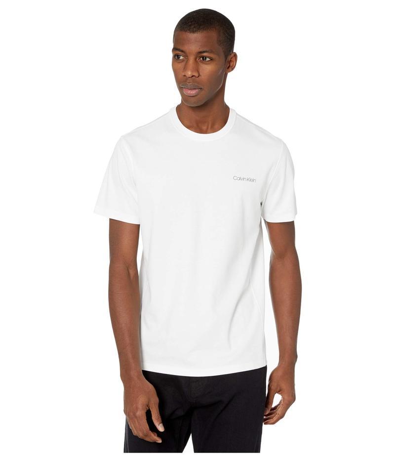 カルバンクライン メンズ シャツ トップス Move 365 S/S Calvin Logo T-Shirt Brilliant White