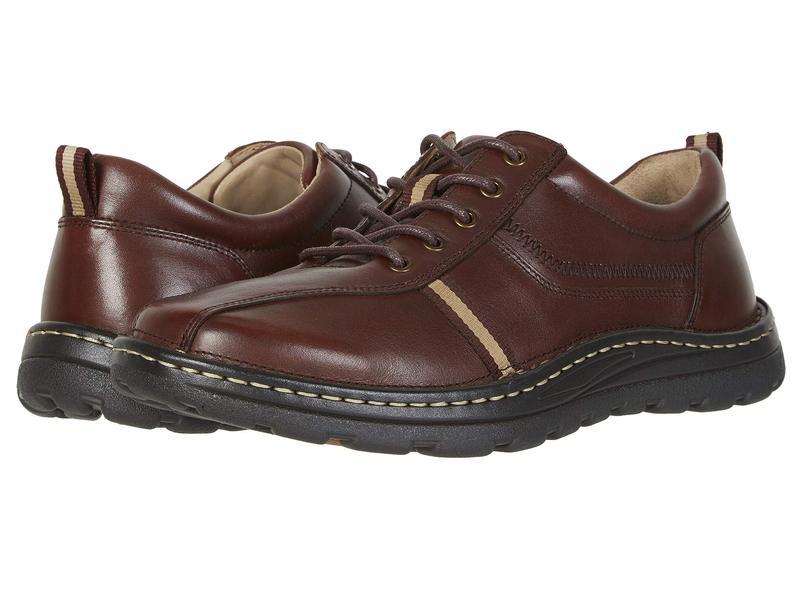 ドリュー メンズ スニーカー シューズ Hogan Brown Leather