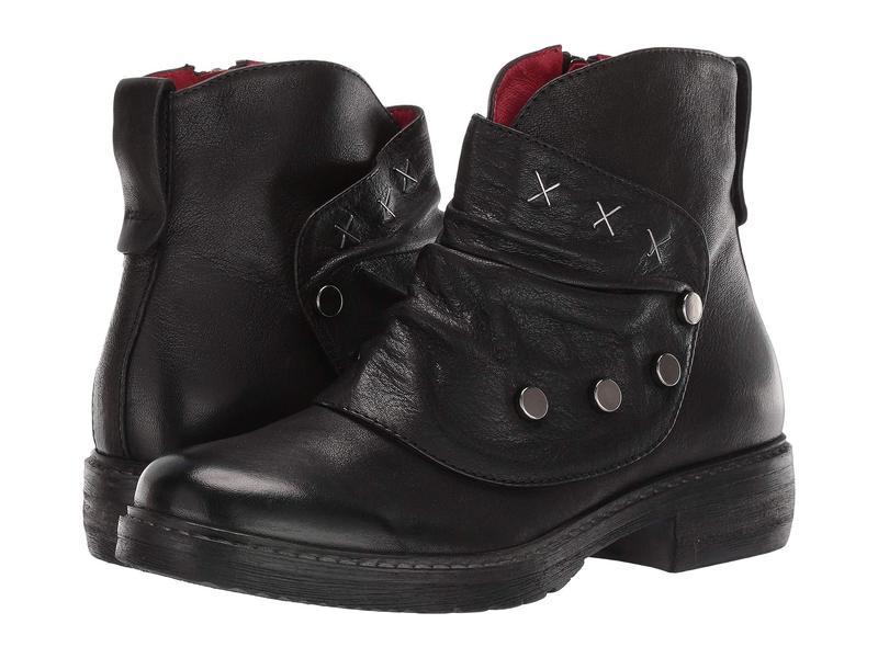 コルダーニ レディース ブーツ・レインブーツ シューズ Praxis Black Leather