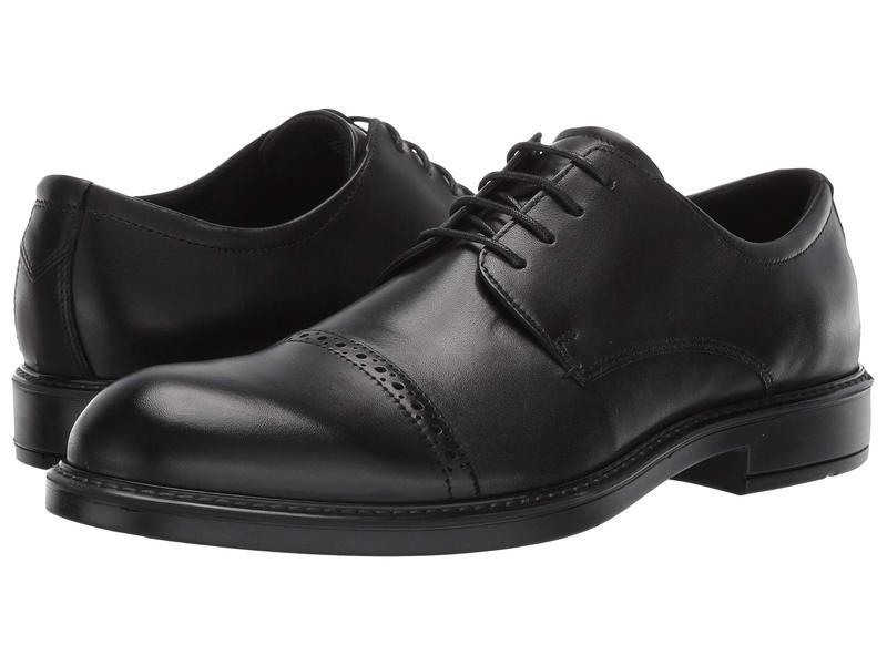 エコー メンズ オックスフォード シューズ Vitrus III Cap Toe Tie Black