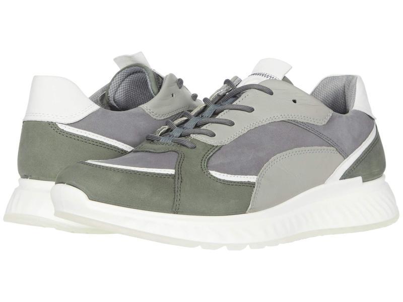 エコー メンズ スニーカー シューズ ST1 Trend Sneaker Lake/White/Titanium/Wild Dove