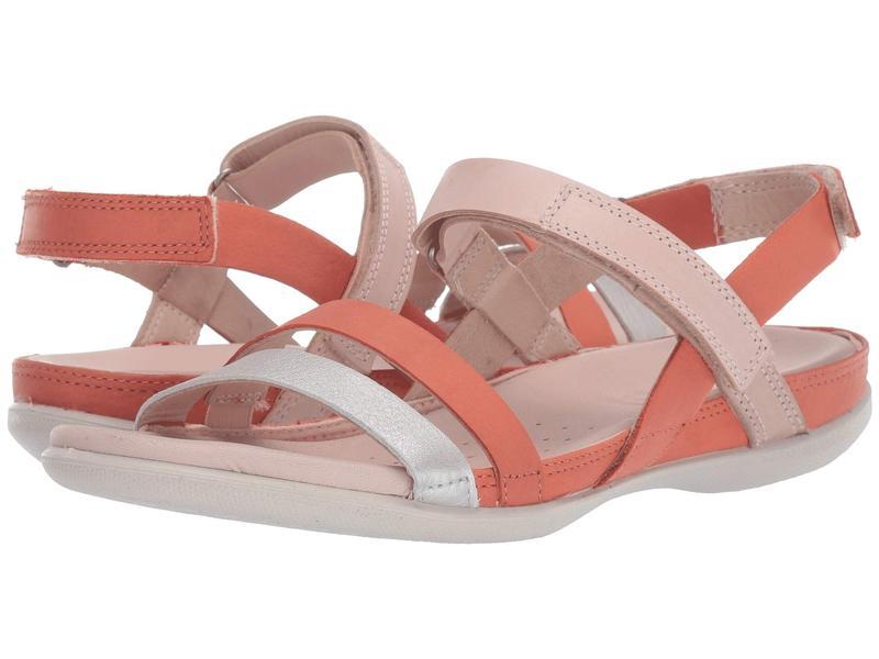 エコー レディース サンダル シューズ Flash Ankle Strap Sandal Alu Silver/Apricot/Rose Dust