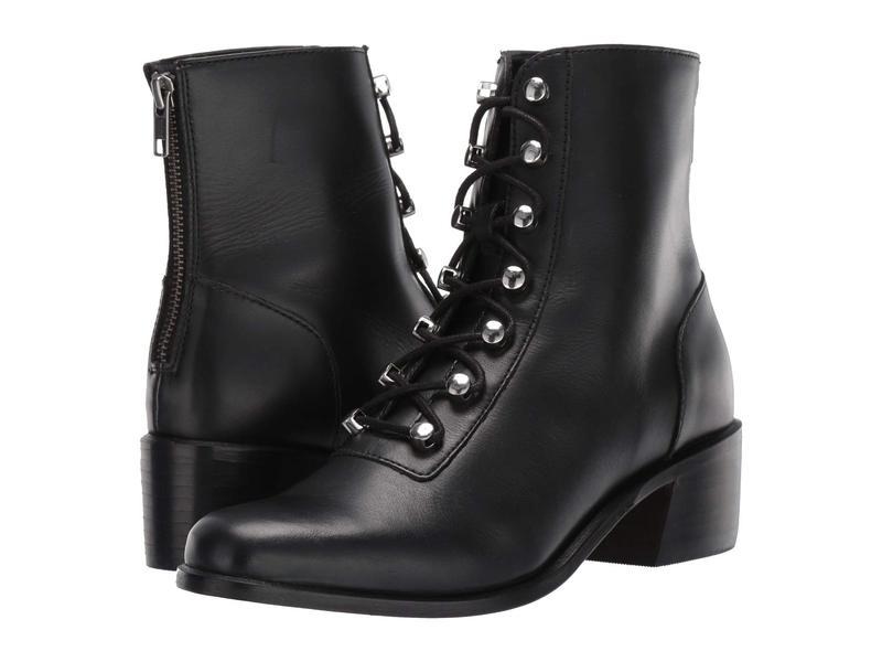フリーピープル レディース ブーツ・レインブーツ シューズ Eberly Lace-Up Boot Black